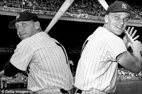 Mickey Mantle Roger Maris - Getty Images