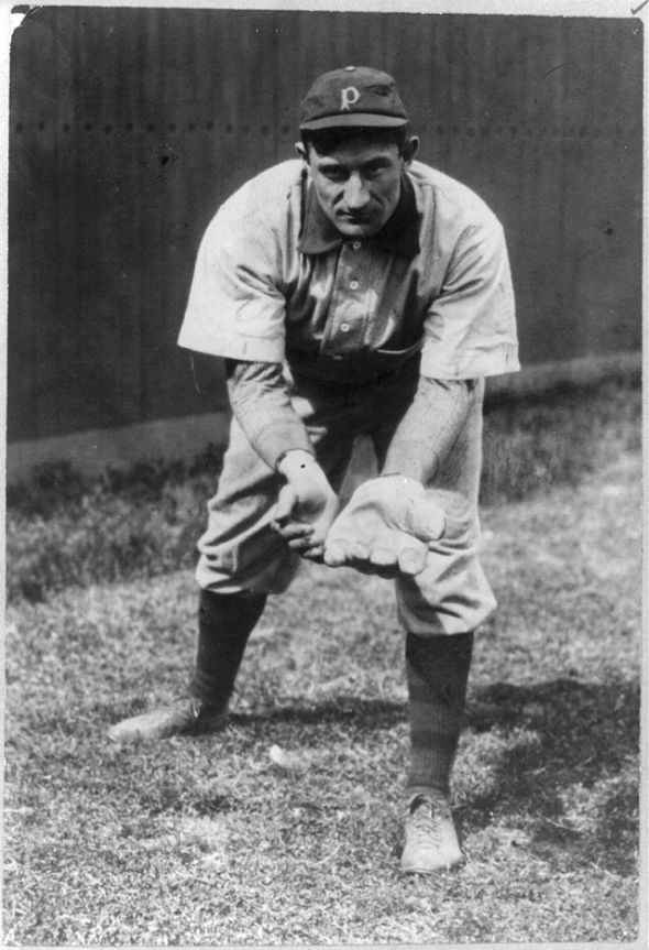 Honus Wagner in 1911 (Library of Congress)