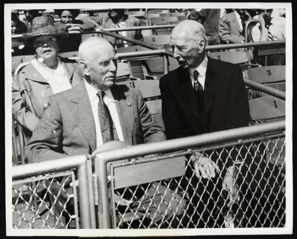 1951 Clark Griffith and Connie Mack Old Timers Day (Mears Online)
