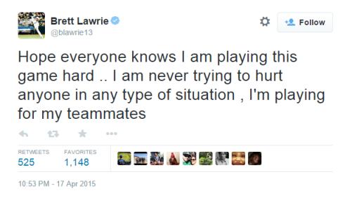 Lawrie tweet