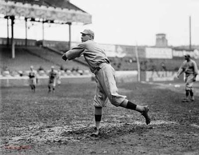 Babe Ruth pitching (Bleacher Report)