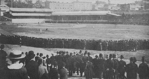 Washington Park in the 1880s (75th Anniversary Official National League History)