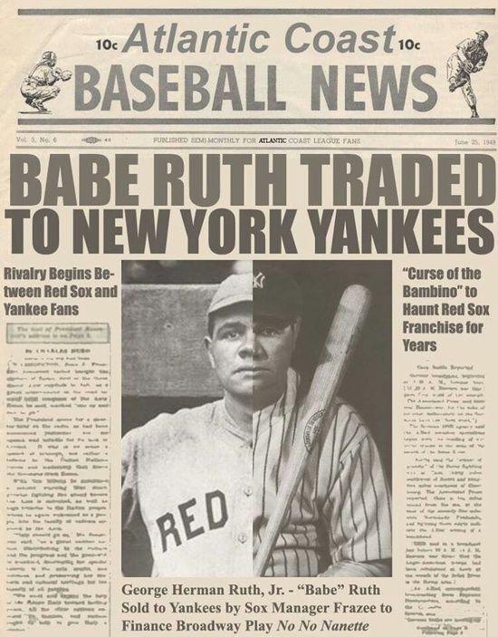 Babe Ruth trade
