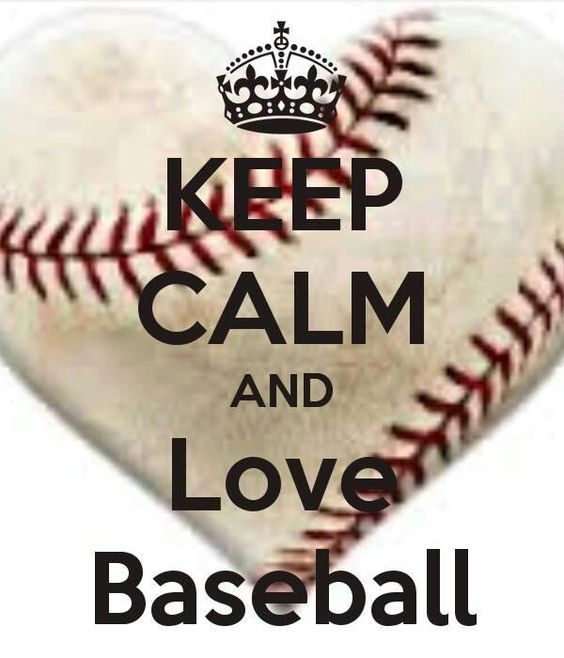Keep Calm and Love Baseball