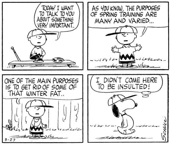 peanuts spring training