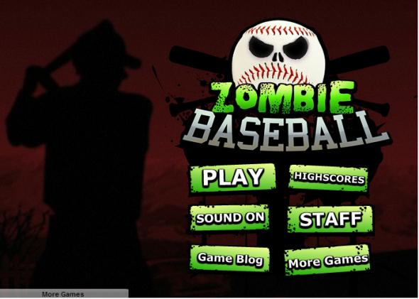 Zombie Baseball 1