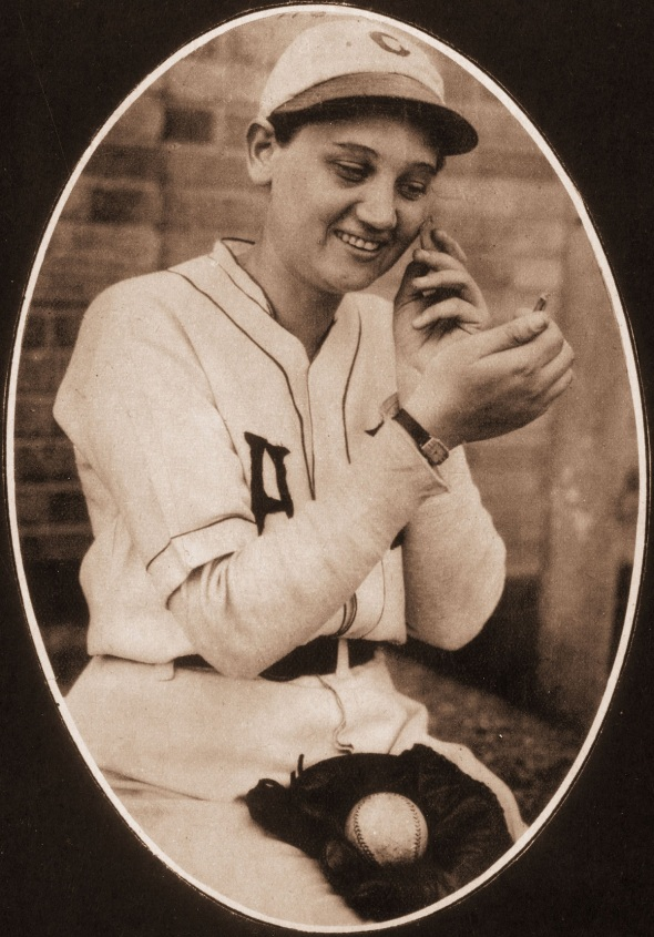 Woman Pitcher Jackie Mitchell