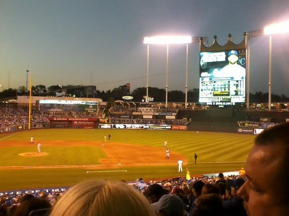 Royals vs Tigers 2