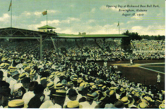 Rickwood Opening Day