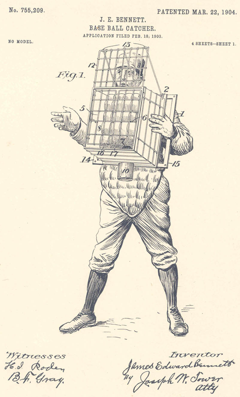 catcher-patent-in-1904