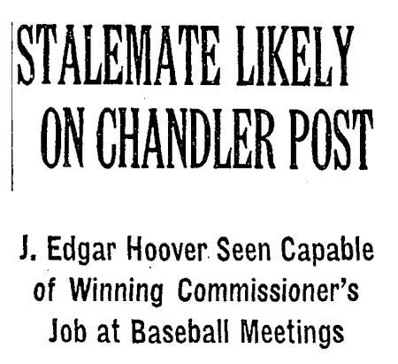 hoover commissioner
