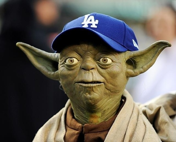 yoda dodgers hat