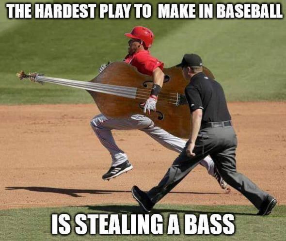 bass stealing