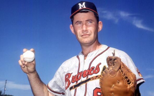 Joe Adcock - Mil. Braves - (DEAD 5-3-99)