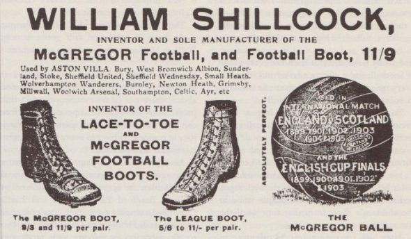 19th century football boots