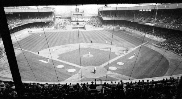 Polo Grounds, View from Behind Home Plate