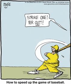 speed up baseball comic