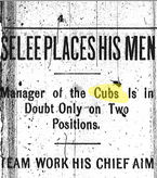 Cubs headline