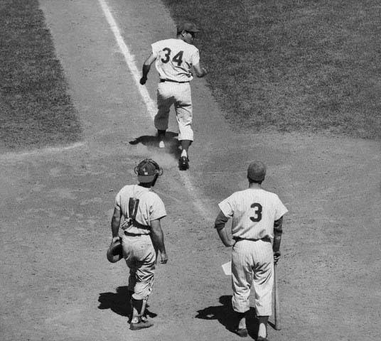Jimmy Piersall backwards