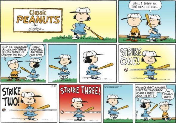 Peanuts trademark