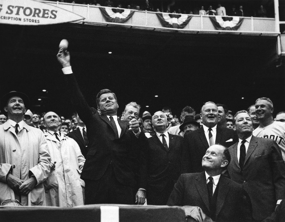 First_pitch_DC_Stadium_JFK
