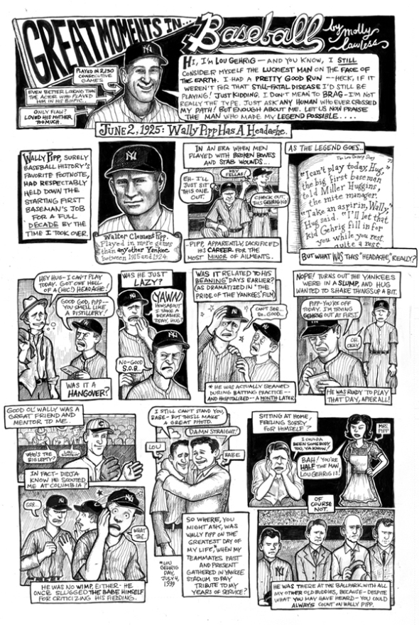 wally pipp comic molly lawless