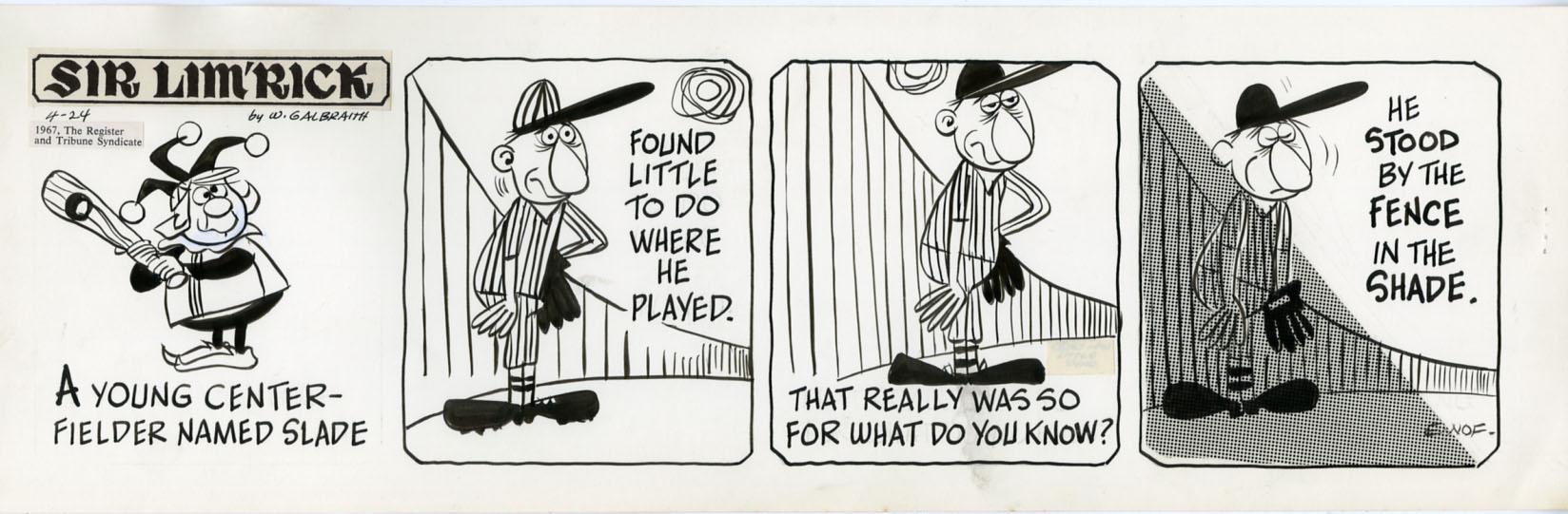 baseball limerick