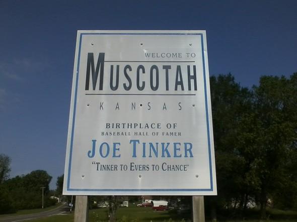 Muscotah welcome