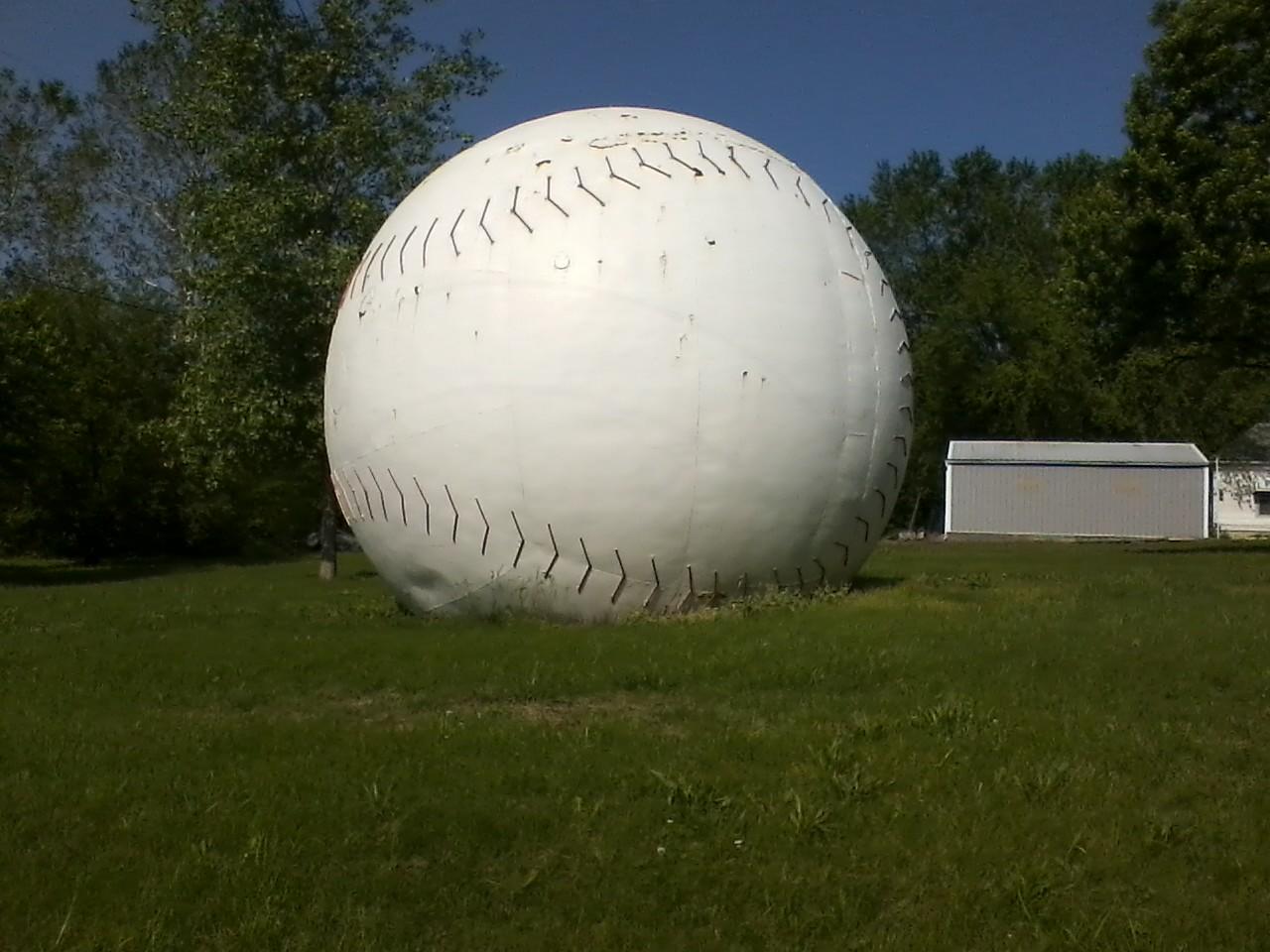 Muscotah World's Largest Baseball
