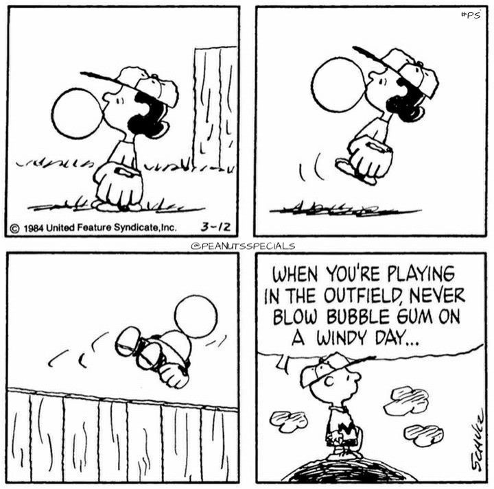 peanuts baseball gum