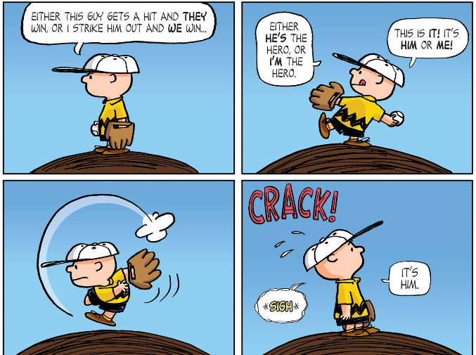 peanuts charlie brown baseball