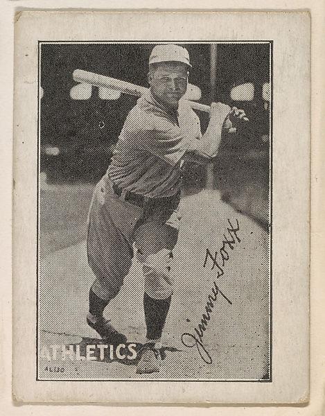 Jimmy Foxx 1935 baseball card