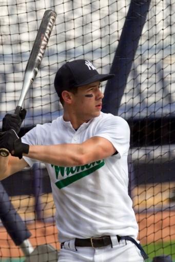 Nick Jonas baseball