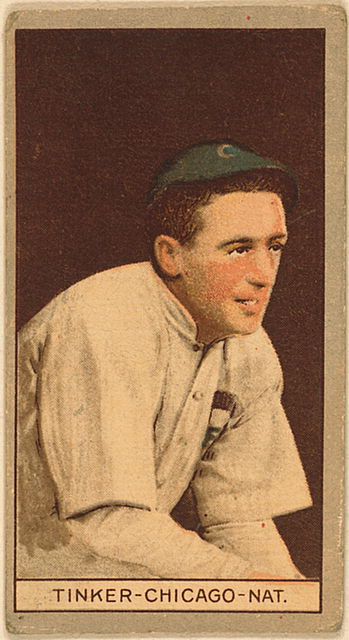 1912 Joe Tinker baseball card