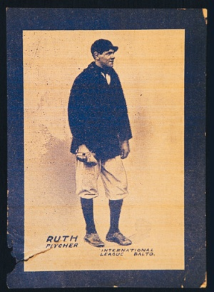 babe Ruth Orioles 1914