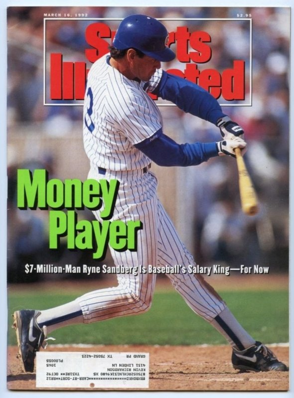 Ryne Sandberg Sports Illustrated