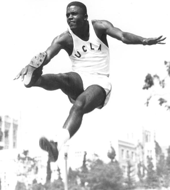 Jackie Robinson UCLA track