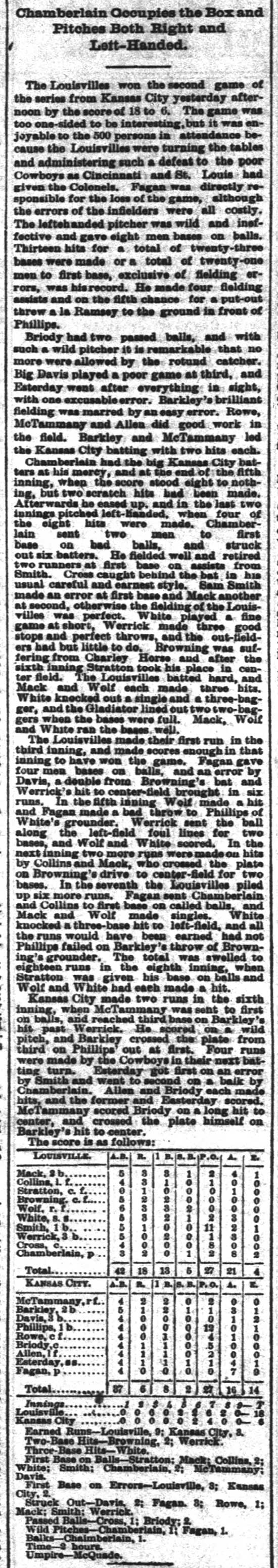 elton_chamberlain_pitches_left-and-right courier-journal 1888