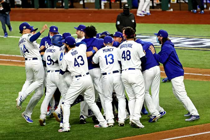 Dodgers 2020 World Series - Business World