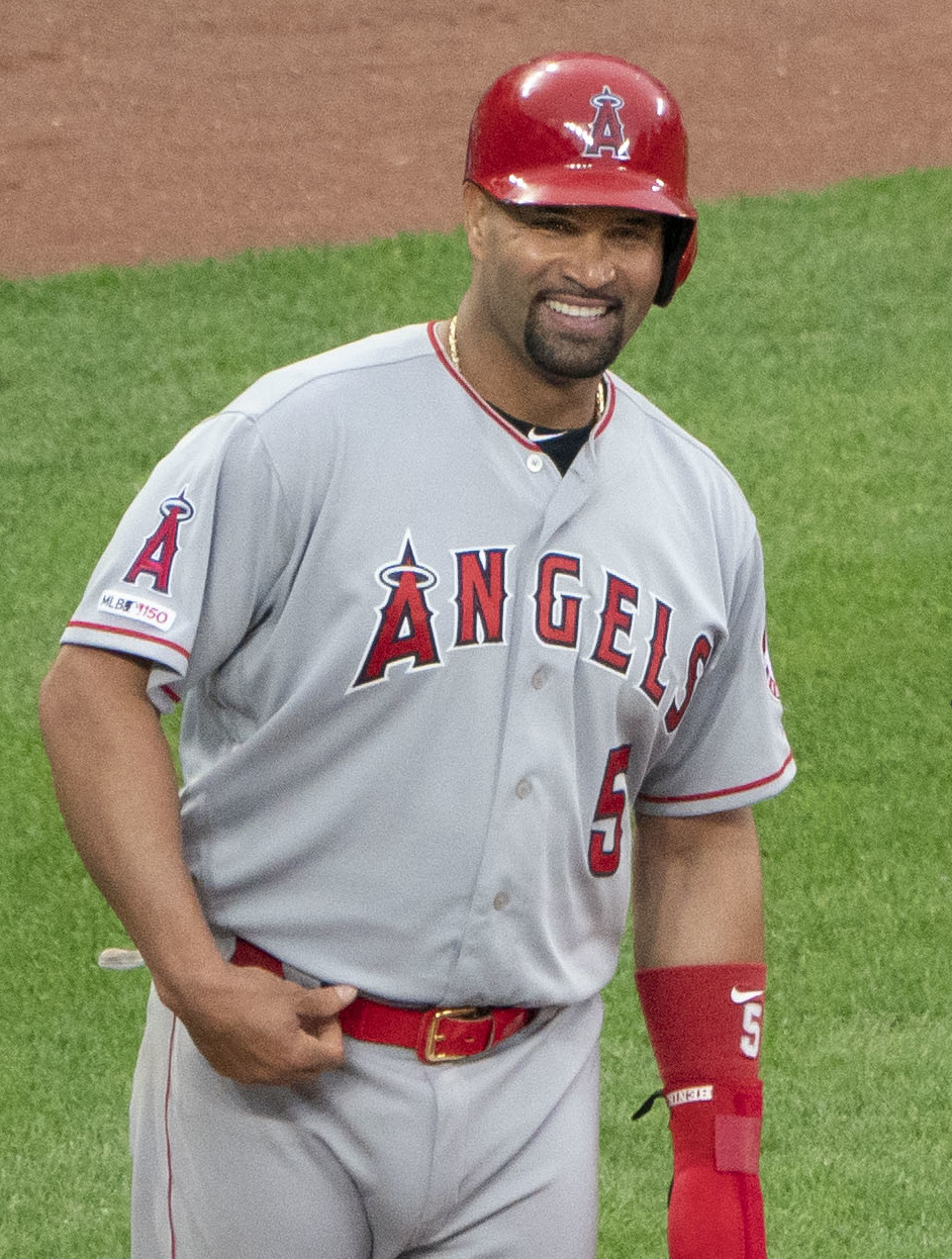 Albert Pujols, Tom Hallion