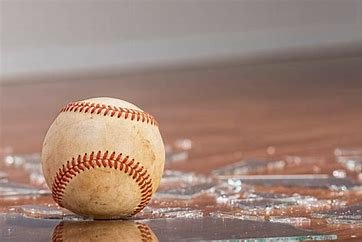 Image result for baseball broken window
