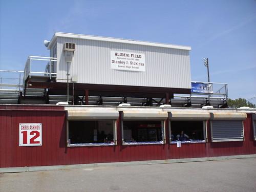 Alumni Field or Spalding Park - intheballparks